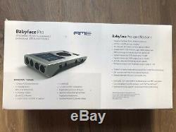 Rme Babyface Pro 24 Canaux Interface Audio Usb Haute Vitesse