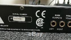 Rolls Rm67 Professional Rack MIC / Line Mixer Xlr 3/4 1u Rca
