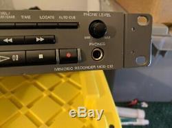 Sony Mds-e12 Mini Lecteur / Enregistreur De Disque! Montage En Rack Professionnel