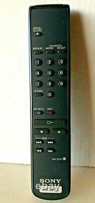 Sony Pcm-r500 Japonais Professional Rack Mount Dat