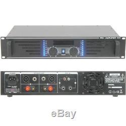 Stéréo Pro 600w Amplificateur -8 Ohm Amp Studio Grand Haut-parleur Systèmes
