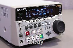 Surveillez-le! Sony Dsr-dr1000p Dvcam Sdi Enregistreur De Disque Hdd Professionnel