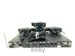 Système Hme Pro 850 Bande 4/c Bs850/bp850 Interphone Sans Fil #7823 (un)