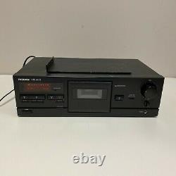 Tascam 102mkii Professional Rack Mount Cassette Deck / Enregistreur Testé Travail