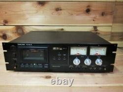 Tascam 112 Mk II Professional Studio Cassette Deck Rack Montage Iz142