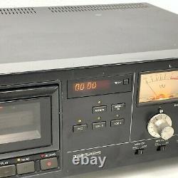 Tascam 112 Mk II Professional Studio Cassette Deck Rack Montage Tgj