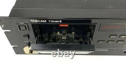 Tascam 112mkii Produits Partiellement De Travail Professional Cassette Deck Rack Mount