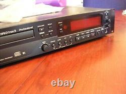 Tascam Cd-rw 900mkii Professional Rackmount CD Recorder Audio Player Stéréo
