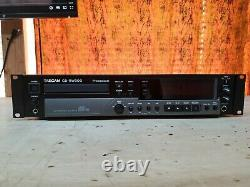 Tascam Cd-rw900 Professional Rackmount CD Lecteur / Enregistreur
