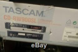 Tascam Cd-rw900sl Professionnel Enregistreur Lecteur CD Compact Disc Rack Mount