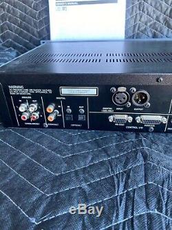 Tascam Cd-rw901sl Rack CD Professionnel Enregistreur Multipiste Numérique