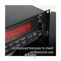 Tascam Cdrw900mkii Professional Rackmount CD Recorder Lecteur Audio Stereo Black