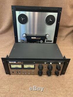 Teac 25-2 Reel À La Station Studio Bobine Diffusion Enregistreur De Montage En Rack Trascam Pro