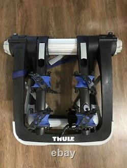 Thule Raceway Pro 9001 Rack De Vélo Support De Coffre Arrière Avec 2 Clés Détient 2 Vélos
