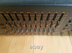 Toa Equalizer E112 Professional Pour Le Montage Rack Made In Japan Testé Et Fonctionne