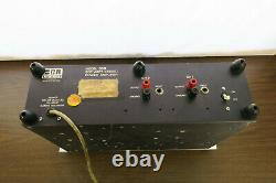 Très Rare Modèle Professionnel Bgw Tôt 500r Amplificateur De Montage De Rack Nouveaux Bouchons Comme-is