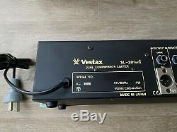 Vestax Sl-201 Mk2 Double Compresseur / Limiteur, 19 Pouces Pro Rackable, Made In Japan