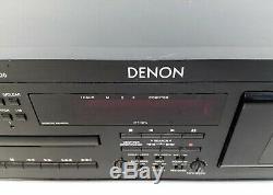 Vintage Denon Dn-t62 Professional CD Et Cassette Combo Mise En Rack Le Pont De