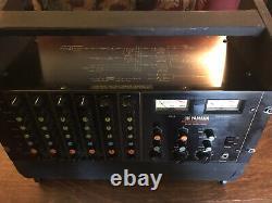 Vintage Yamaha M406 Professional Series 6 Channel Rack Mount Rotary Vu Mixer