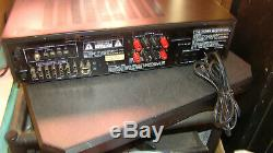 Vtg 80 1980 Pro Audio Rack Mont Carver 900 Stéréo Tuner Amp