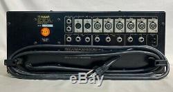 Yamaha M406 Professional Series 6 Canaux De Montage En Rack Mixer Noir